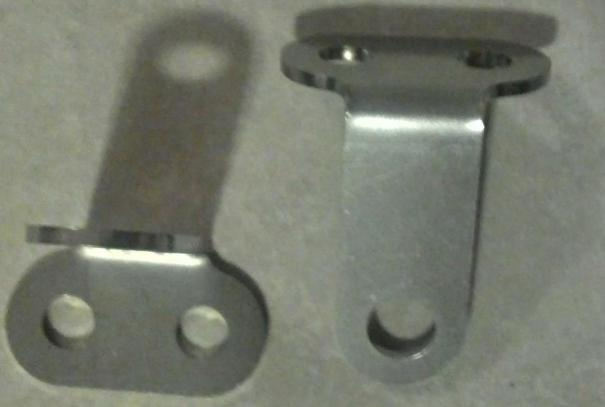 Auxiliary Light Brackets - Click Image to Close