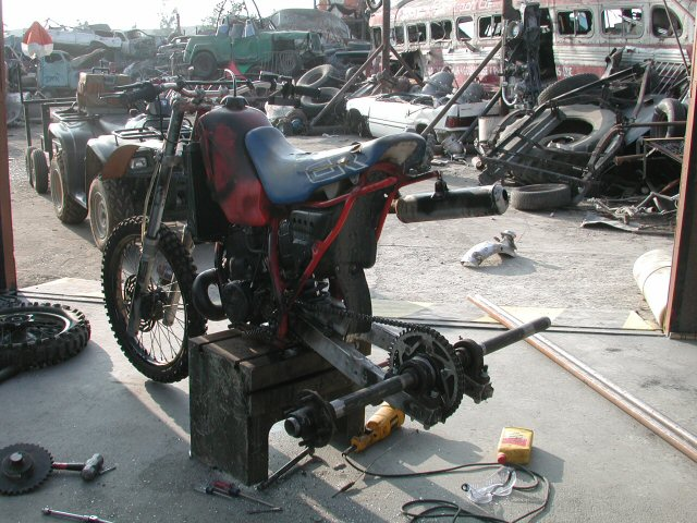 Junkyard Wars - Build Day Picture 72 : Aftershock Motorsports